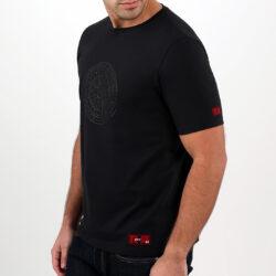 Black Aztec Tattoo Men's T-shirt