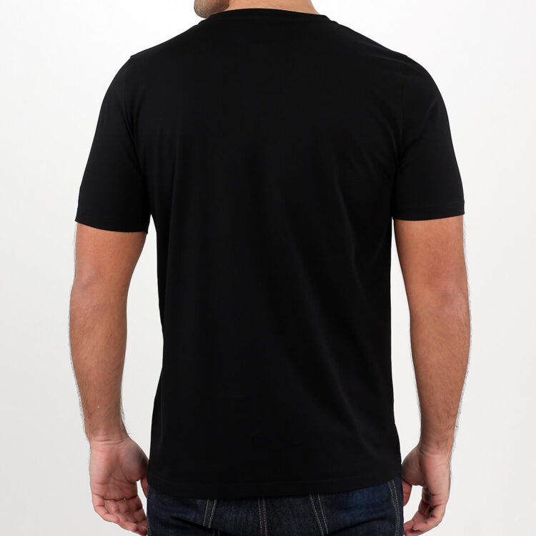 Men's black t-shirt Supima Cotton by Retro Red