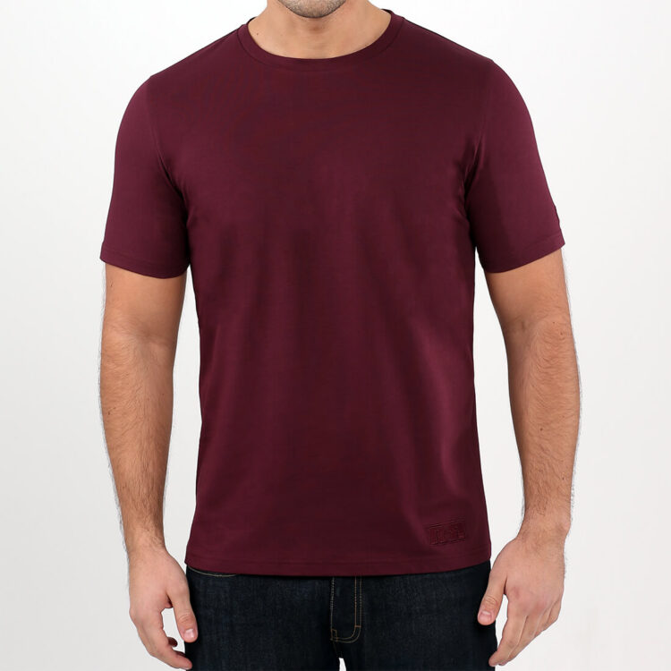Men's Red T-shirt Retro Red