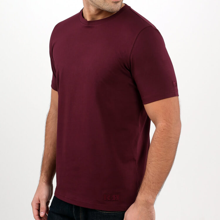Men's Red T-shirt side Retro Red