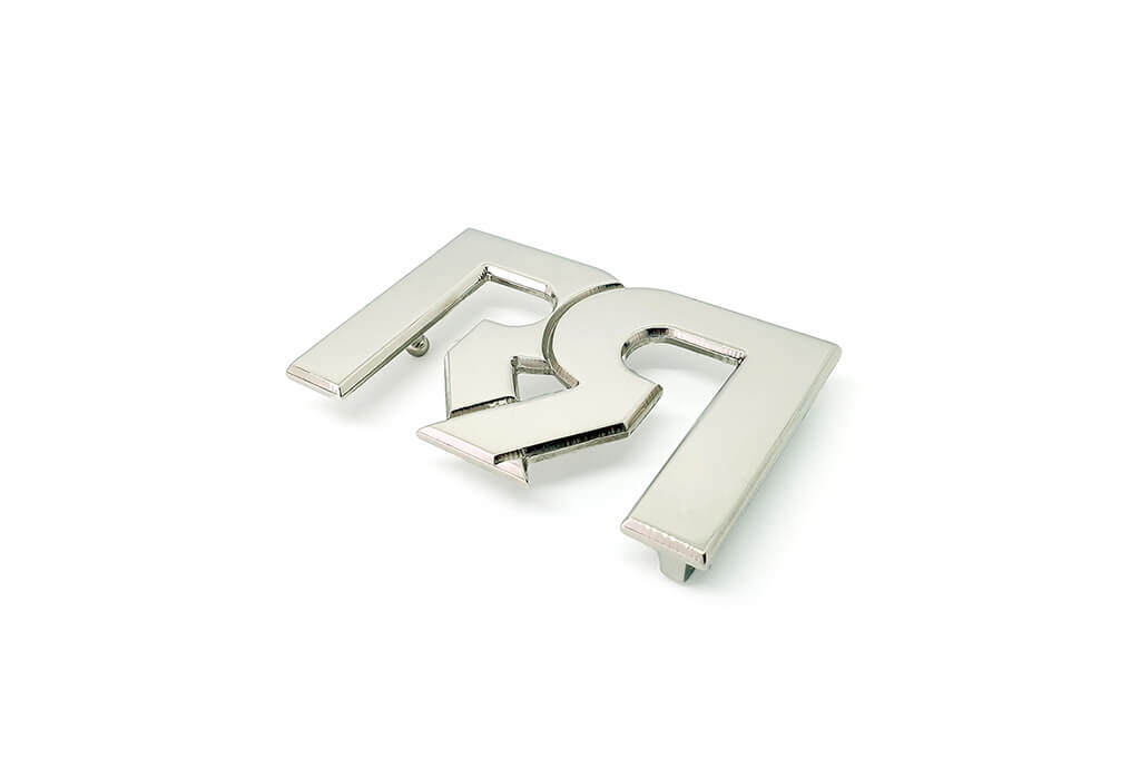 RX2 Double Palladium Plated Belt buckle