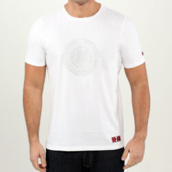 WHITE AZTEC TATTOO MEN'S T-SHIRT