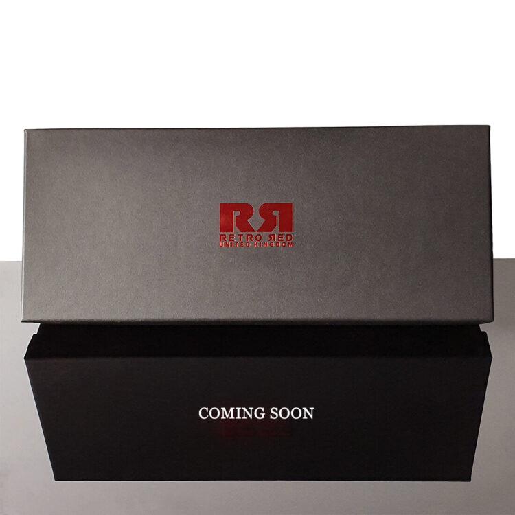 Retro Red Designer Belt Sets