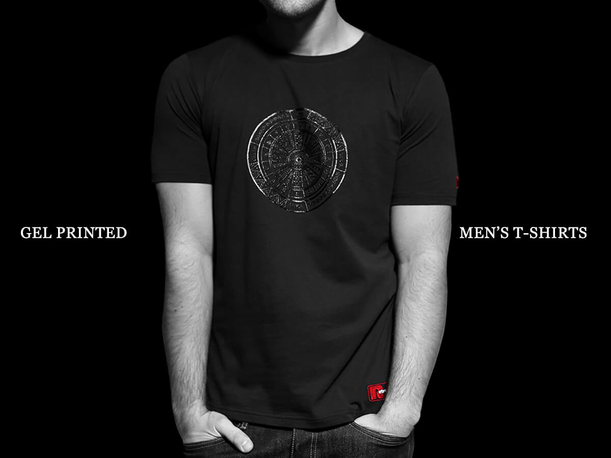 Mens Designer T shirts by Retro Red