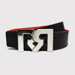 RR 2T PALLADIUM WITH BROWN & CROC EMBOSSED BELTS