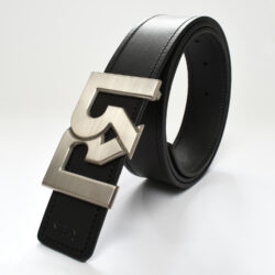 RR B-SILVER WITH BLACK & BROWN BELTS