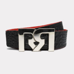 RR PALLADIUM WITH BLACK & CROC EMBOSSED BELTS