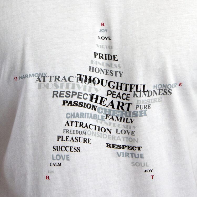 Mens_white_T_shirt_Twisted_star_print