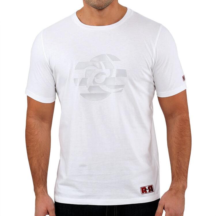 White_Abstract_Circle_T_shirt