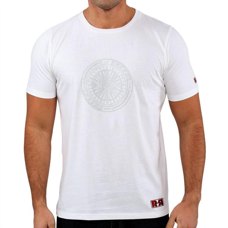 White_Aztec_Tattoo_T_shirt