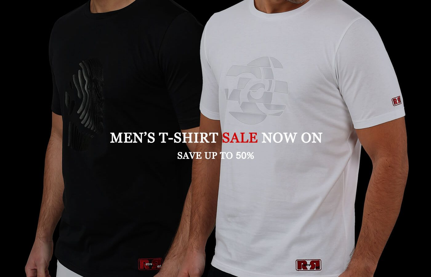 Retro_Red_Mens_t-shirts_January_Sale_2020